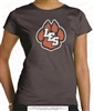 Glittered LES Paw Cotton Tee