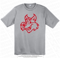 Outlined Wildcats Logo Dri-Fit Tee