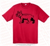 Monochromatic Wildcats Dri-Fit Tee