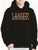 Lanier Longhorns Split Applique Hoodie
