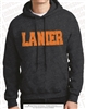 Distressed Fabric Applique LANIER Hoodie