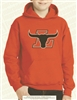 L Longhorns Logo Hoodie in Orange