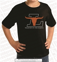 Full Front Longhorns Tradition Tee
