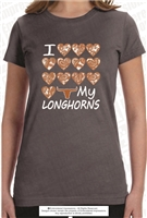 I HEART My Longhorns Tee