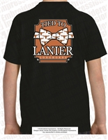 Tied To Lanier Longhorns Tee