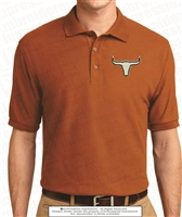 Lanier Steer Head Polo