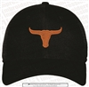 Lanier Longhorns Stretch Mesh Cap