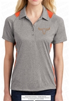 Longhorns Colorblock Contender Polo