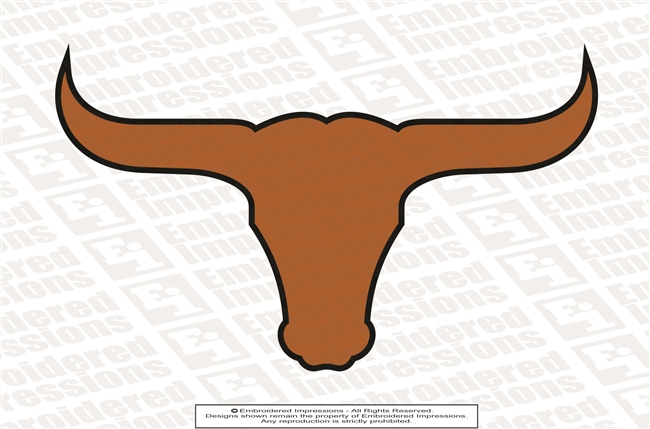 Lanier Longhorns Logo Sticker