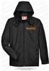 Longhorns Soccer Waterproof Jacket with Mesh Lining