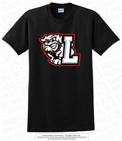 L Full Bulldogs Primary Logo Tee