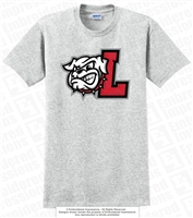 L Bulldogs Head Cotton Tee