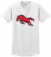 Full Mustangs 100 Percent Cotton Tee
