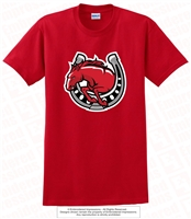 Mustangs Horseshoe Tee