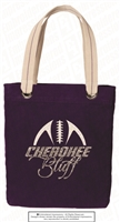 Cherokee Bluff Football Tote Bag