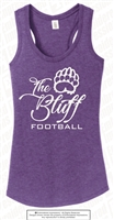 The Bluff Football Racerback Tank