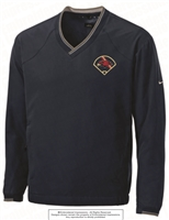 Mill Creek Baseball Field Nike V-Neck Wind Shirt