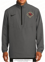 Baseball Field Nike 1/2-Zip Wind Shirt