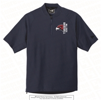 Mill Creek Baseball Short Sleeve 1/4-Zip Jacket