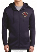 Baseball Field Nike Therma-FIT Full-Zip Fleece Hoodie