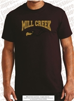 'Mill Creek' Hawks Head Silhouette Tee