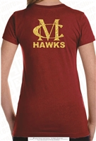 MC Hawks Ladies and Girls Tee