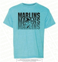 Repeated Marlins Tee