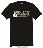 Mountain View Baseball Cotton Tee