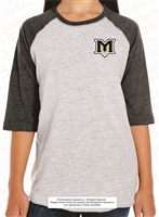 Tied To Mountain View Bears Baseball Fine Jersey Tee