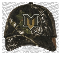 Mountain View Camouflage Garment-Washed Cap