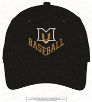 Mountain View Baseball Soft Brushed Canvas Cap