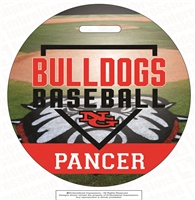 NG Bulldogs Baseball Bag Tag