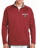 Embroidered Sport-Wick Fleece 1/4 Zip Jacket