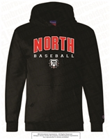 North Baseball Champion Dry-Eco Hoodie
