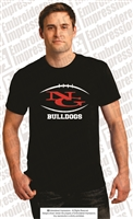 NG Bulldogs Football Tee