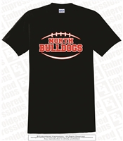North Bulldogs Football Tee