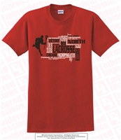 North Gwinnett Bulldog Lacrosse Message Tee