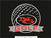 North Gwinnett Golf Car Sticker