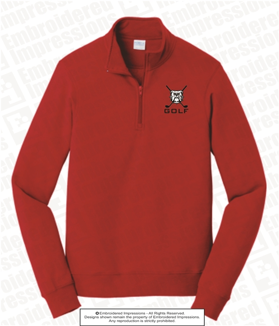 North Gwinnett Golf Quarter Zip Pullover