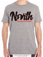 Embedded Horse Head NORTH Cotton Tee
