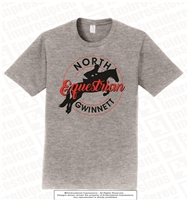 Full Color North Gwinnett Equestrian Cotton Tee