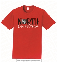 North Bulldogs Equestrian Tee