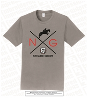 North Gwinnett Equestrian and Bulldogs Tee