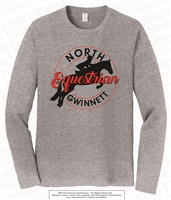 Full Color North Gwinnett Equestrian Long Sleeve Tee