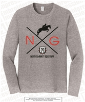 North Gwinnett Equestrian and Bulldogs Long Sleeves