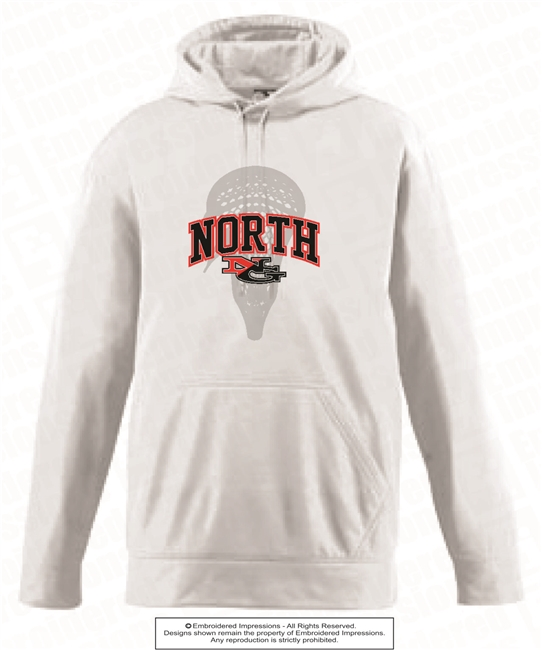 NORTH NG Lacrosse Ball Wicking Fleece Hoodie