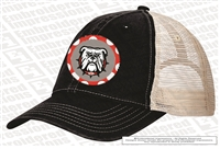 Bulldogs Unstructured Trucker Cap