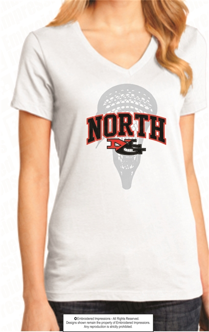 North Ladies Perfect Weight V-Neck Tee