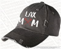 LAX Mom Distressed Cap