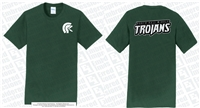 Double Sided North Hall Middle Trojans Tee